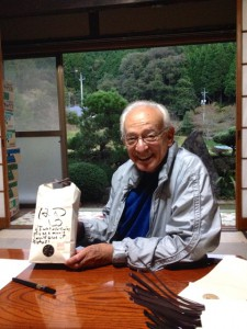 Joe Morgenstern with Shimoyama san