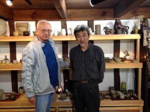 Joe with Mr Miyazaki